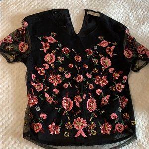 Zara top in size S